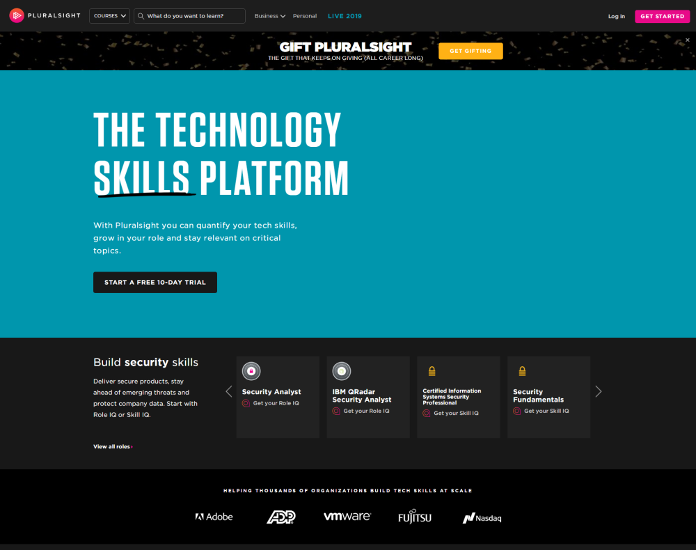 Unlimited Online Learning for Developer, IT and Cyber Security Pros _ Pluralsight_看图王.png