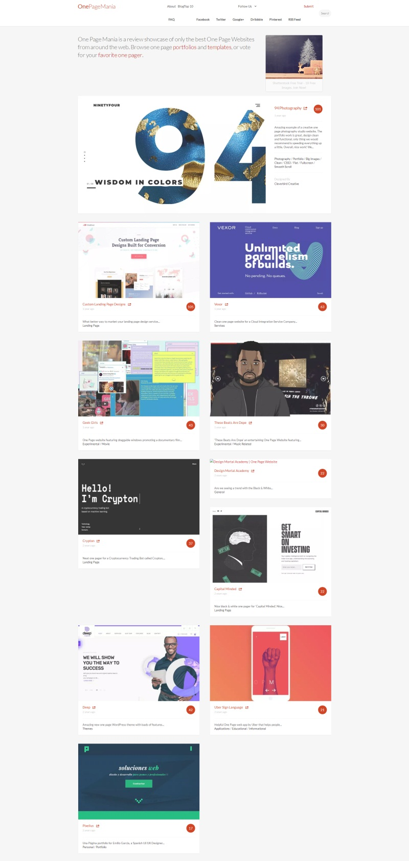 One Page Mania _ A Gallery of One Page Websites_看图王.jpg
