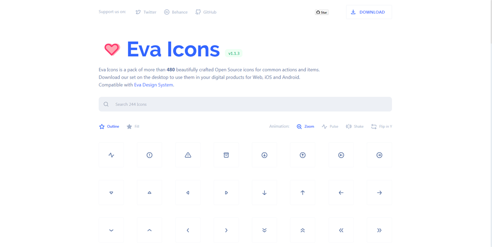 Eva Icons - beautifully crafted Open Source UI icons for common actions and items..png
